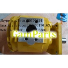803004035 (CBZ2100L) гидравлической части насоса XCMG погрузчик, одиночный шестеренчатый насос, гидравлический насос