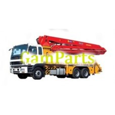 Высокая Quanlity Гидравлический Бетононасос Truckxcmg Hb37A
