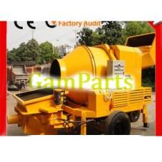 Передвижной дизельный портативный гидравлический насос трейлера конкретный строительных машин